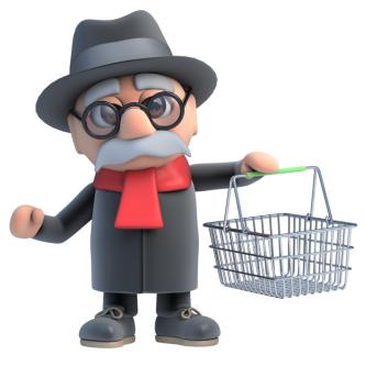 Mystery Shopping Man