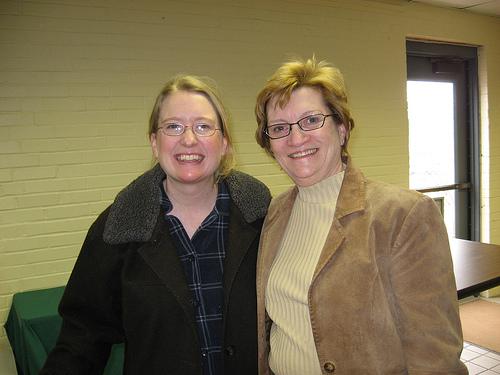 Me and Martha Brady