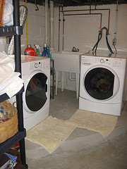 Laundry, Cleaned and Tidied Up
