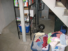 Under the Stairs, Purged and Tidied