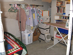 Laundry Folding and Ironing Station