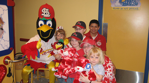 Fredbird and the Girls