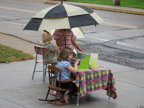 Selling in the Rain