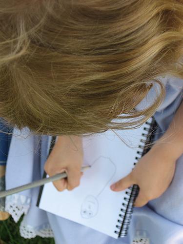 Sketching Girl