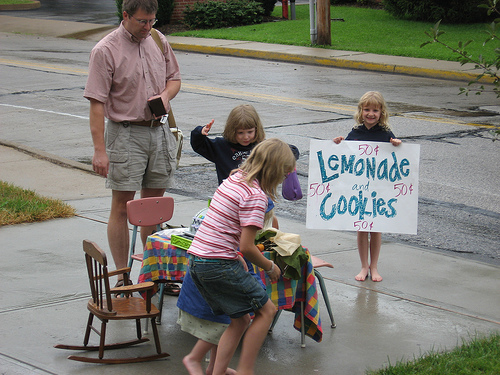 Lemonade and Cookies