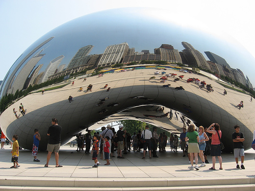 Chicago in the Bean