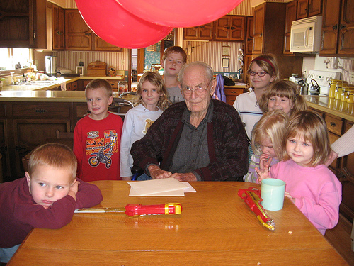 Great Grandpa's Birthday Party