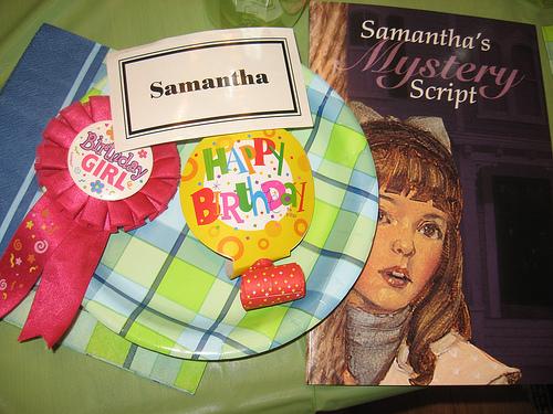 Samanta's Mystery Party