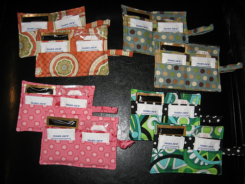 Inside More Tea Wallets!