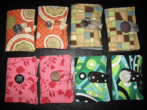 More Tea Wallets!