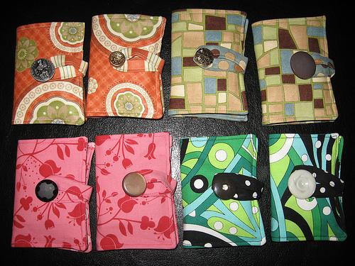 More Tea Wallets!