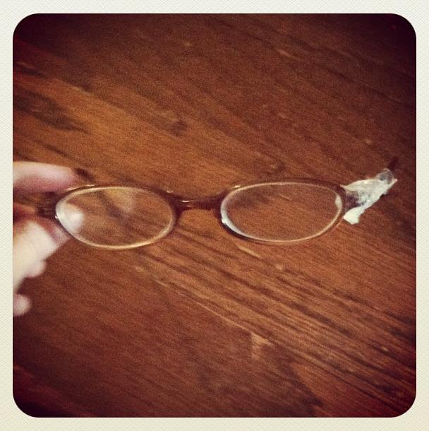 Glasses Oops