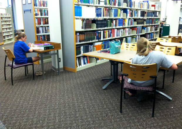 Testing at the Library