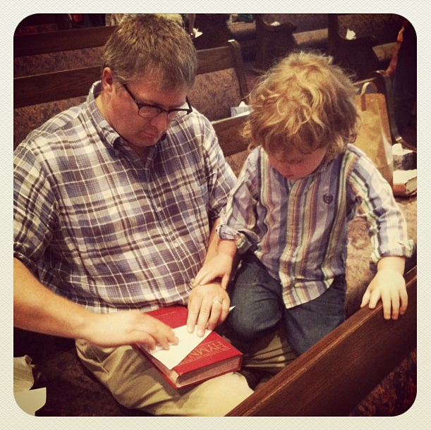 Paper Airplanes at Church